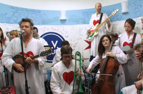 "The Polyphonic Spree ""Heart of Gold"" (Neil Young cover)"
