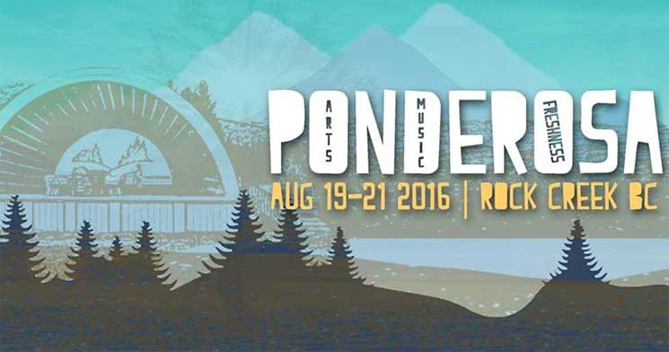 BC's Ponderosa Fest Returns with Timber Timbre, Black Mountain, the Pack A.D. for 2016 Edition