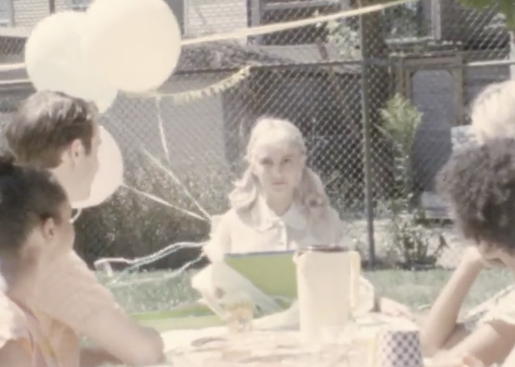 PONY Throws a Sinister Dinner Party in 'Chokecherry' Video