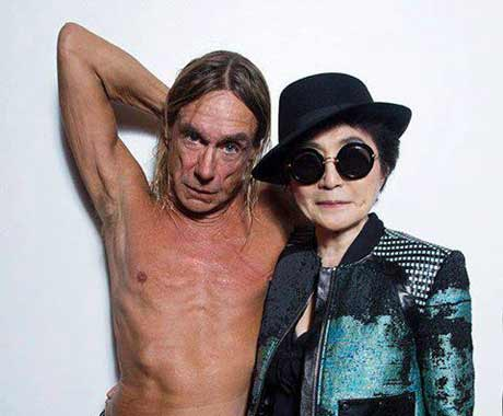 Yoko Ono Covered by Iggy Pop on New 10-Inch, Shares Lenny Kravitz-Featuring New Song