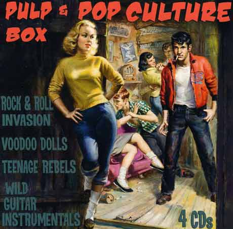 Various Pulp & Pop Culture Box