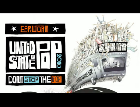 "DJ Earworm ""United State of Pop 2010 (Don't Stop the Pop)"" (video)"
