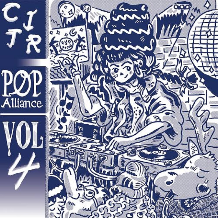 Mint Records and CiTR Team Up for  'Pop Alliance Vol. 4'