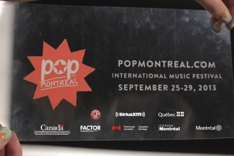 Pop Montreal - Official Commercial