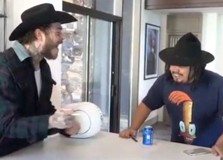 Post Malone Is Here to Make Your Day by Singing Fleet Foxes with a Cigarette and Cowboy Hat