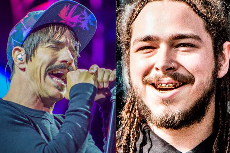Red Hot Chili Peppers and Post Malone to Perform Together at the Grammys
