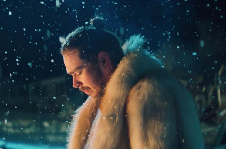 Post Malone Says He's Had Multiple Alien Encounters