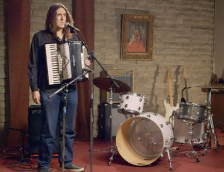 "The Postal Service 'Funny or Die' Video (ft. ""Weird"" Al Yankovic, Tom DeLonge, Moby)"