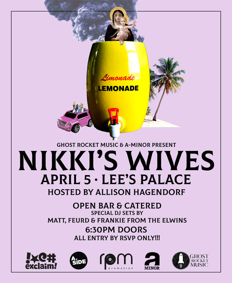 Nikki's Wives Announce Free Toronto Listening Party
