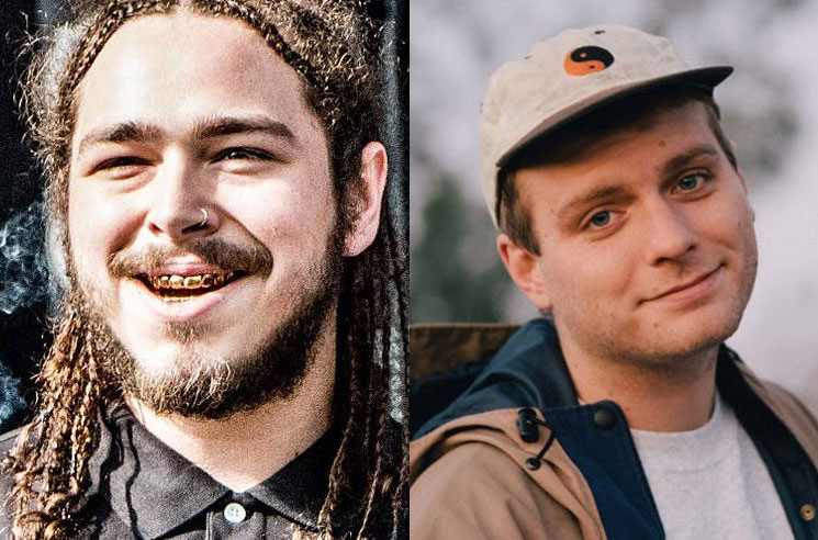 Post Malone Played Shaker and Vaped Onstage with Mac DeMarco