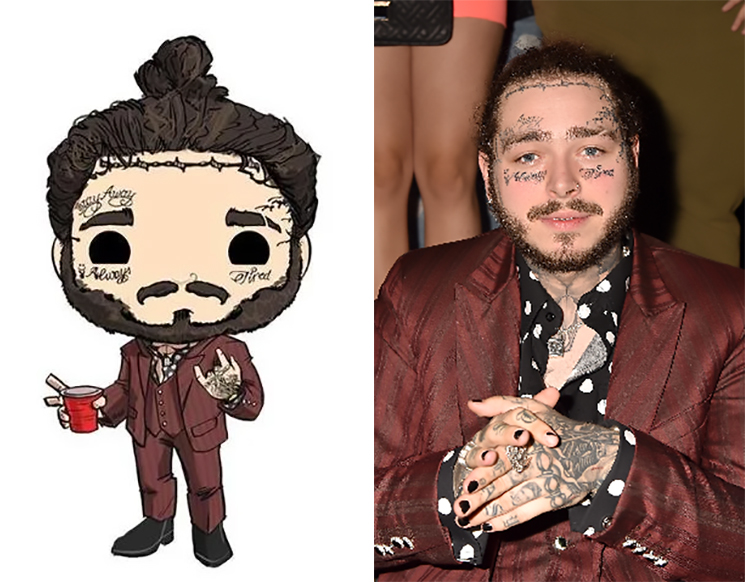 Post Malone Is Being Immortalized as a Funko Pop