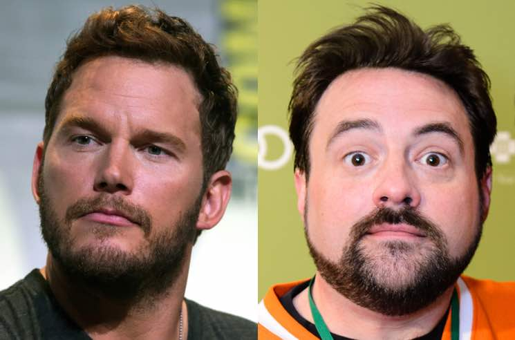 ​Kevin Smith Thanks Chris Pratt for His Prayers in Facebook Video