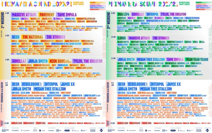 Primavera Announces Enormous Lineup for Expanded 2022 Festival