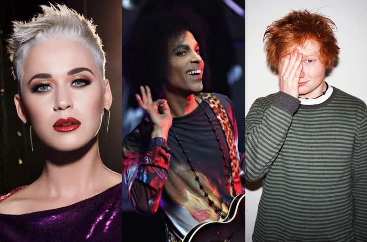 ​Prince Says He Doesn't Like Ed Sheeran and Katy Perry in New Memoir
