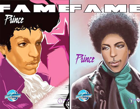 Prince's Rise to Fame Chronicled in Biographical Comic