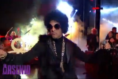 "Prince ""FUNKNROLL"" (live on 'Arsenio')"