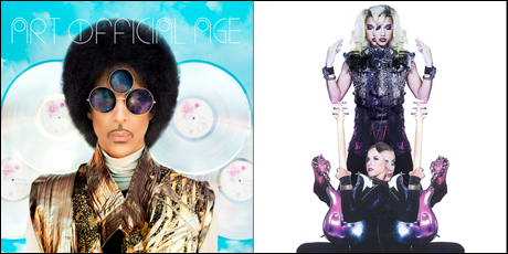 Prince 'Art Official Age' / 'Plectrumelectrum' (album streams)