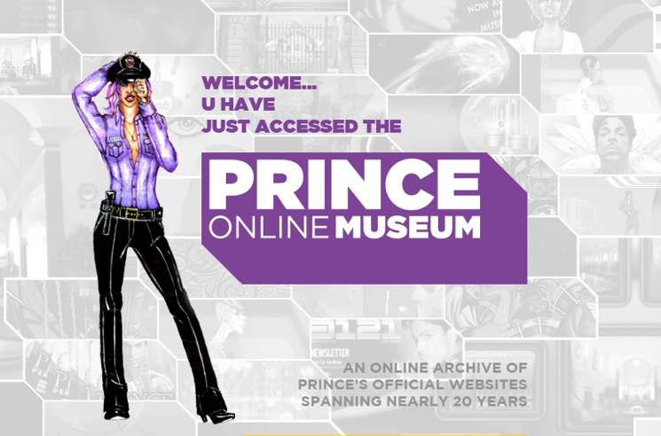 Prince Celebrated with New Online Museum