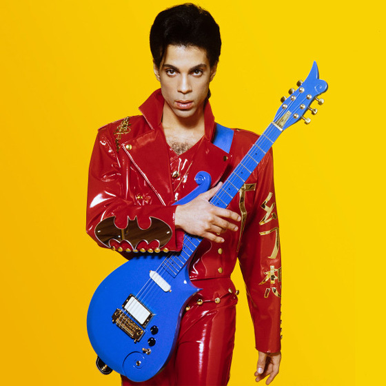 "Prince's Blue ""Cloud"" Guitar Heads to Auction"