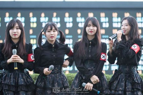 Korean Babymetal Knockoff Pritz Accused of Racism over Nazi-like Arm Bands