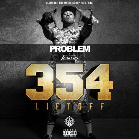 """Problem """"Dollaz and Sense"""" (ft. Childish Gambino) (354 Liftoff Remix) / '354: Liftoff' (mixtape)"""