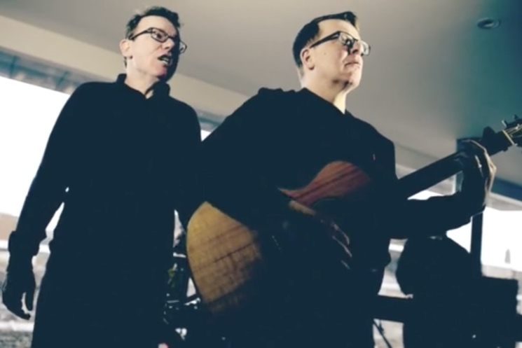 The Proclaimers 'You Built Me Up' (video)