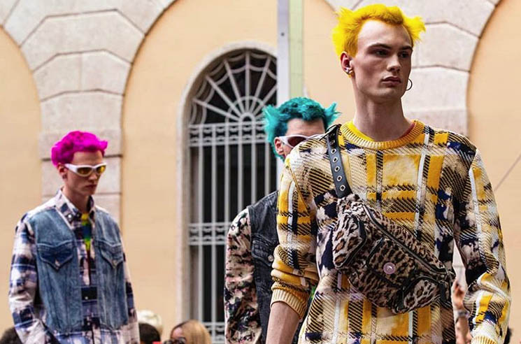 Versace Dedicates Menswear Line to the Prodigy's Keith Flint