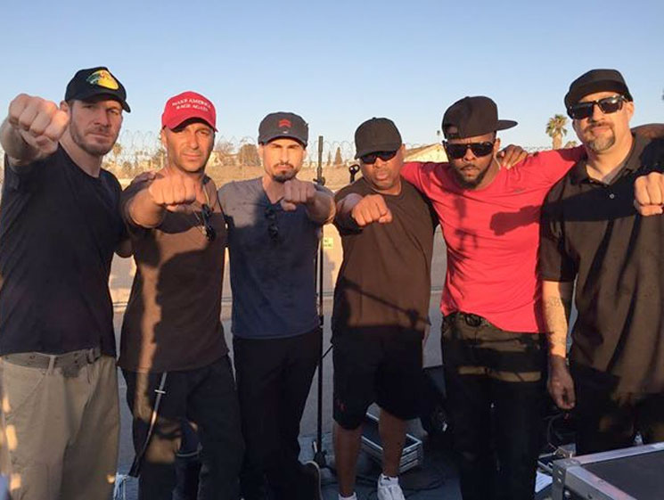 Prophets of Rage Barred from Playing Inside Prison