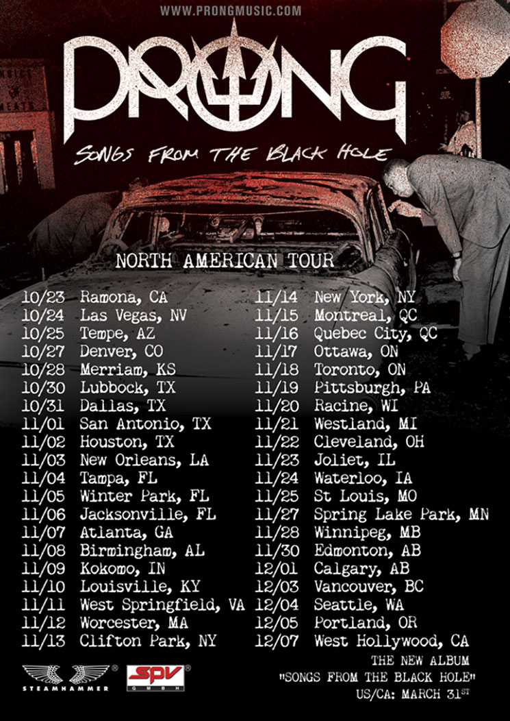 Prong Take New LP on North American Tour, Premiere Bad Brains Cover