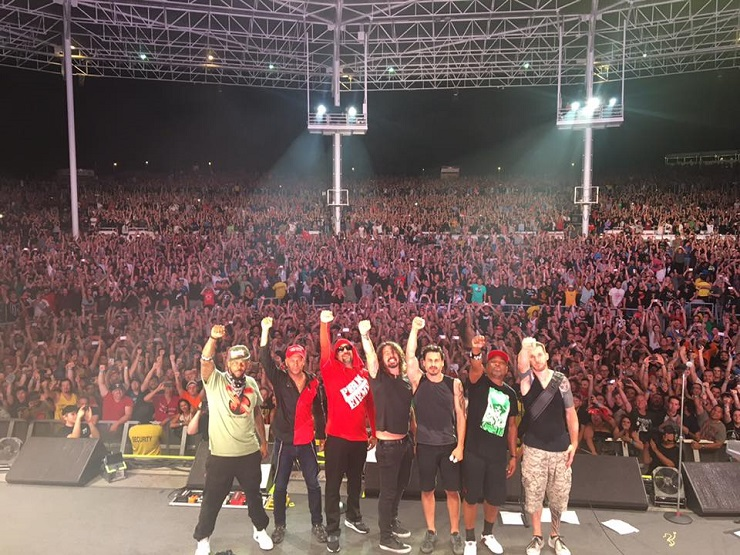 "Watch Dave Grohl ""Kick Out the Jams"" with Prophets of Rage in Toronto"