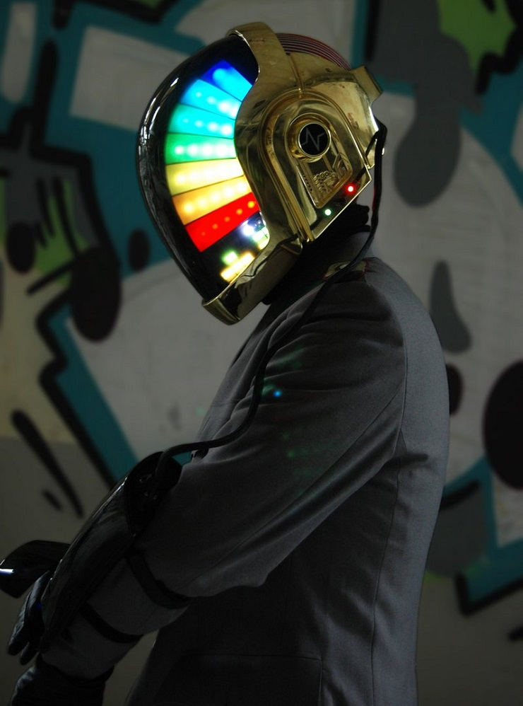 Someone Made a Better, Faster, Stronger Daft Punk Helmet