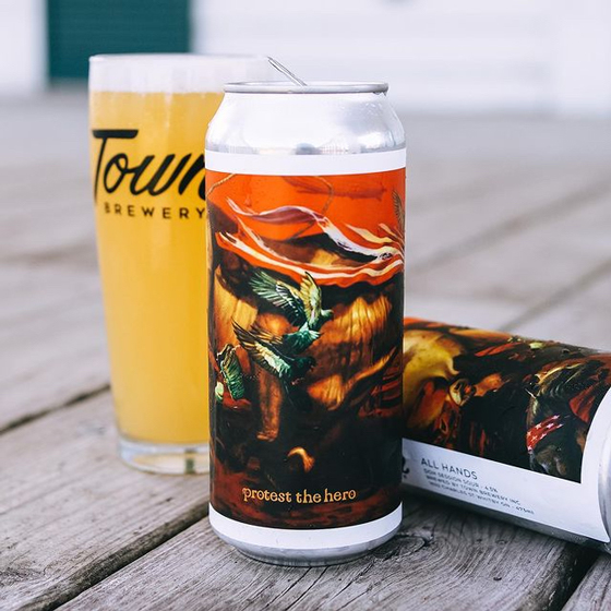 Protest the Hero Launch 'All Hands' Beer for Charity