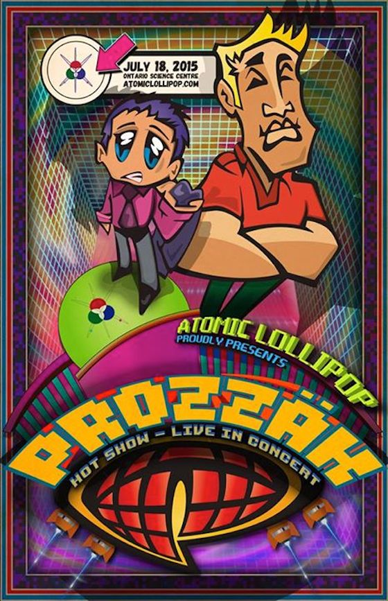 Prozzäk Reunite for Toronto's Atomic Lollipop