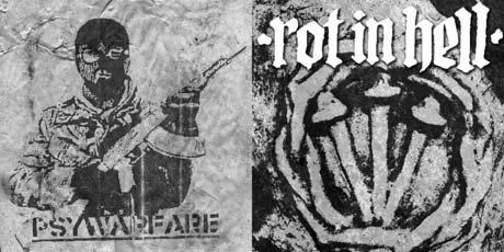 Integrity Offshoot Psywarfare Returns For Split with Rot In Hell