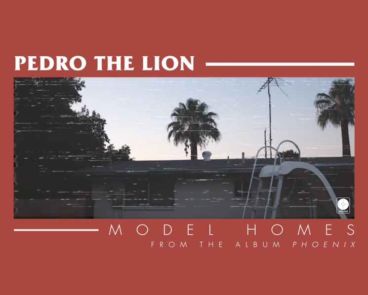 "Pedro the Lion Share Second 'Phoenix' Single ""Model Homes"""