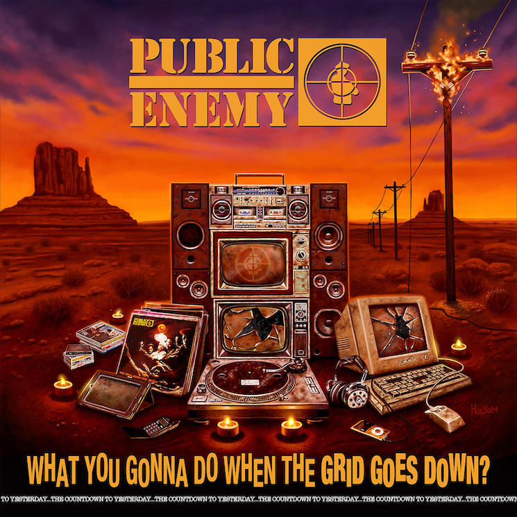 Public Enemy Continue to Fight the Powers That Be on 'What You Gonna Do When the Grid Goes Down?'