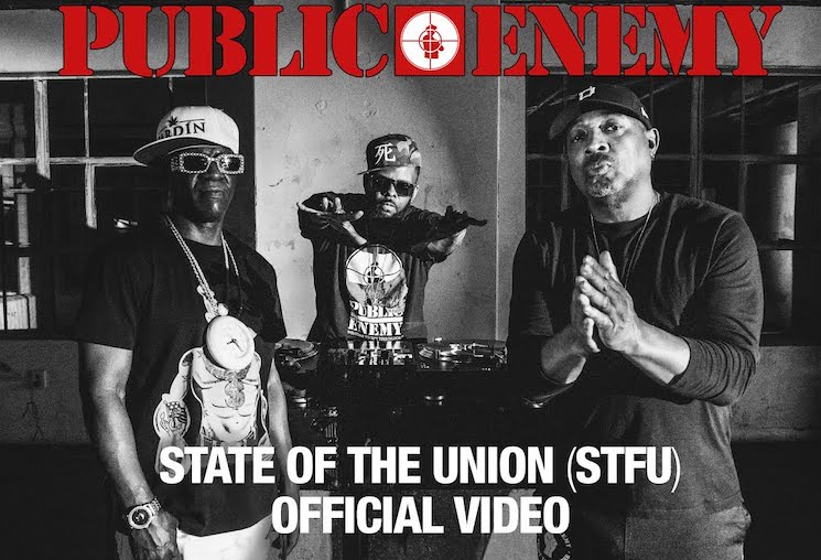 Public Enemy Address Donald Trump on New Single 'State of the Union (STFU)'