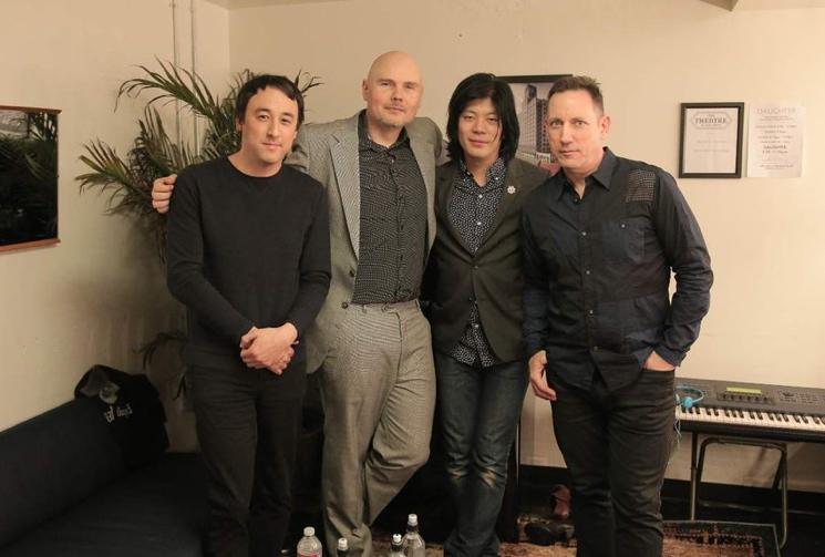Smashing Pumpkins Reunite with Guitarist James Iha