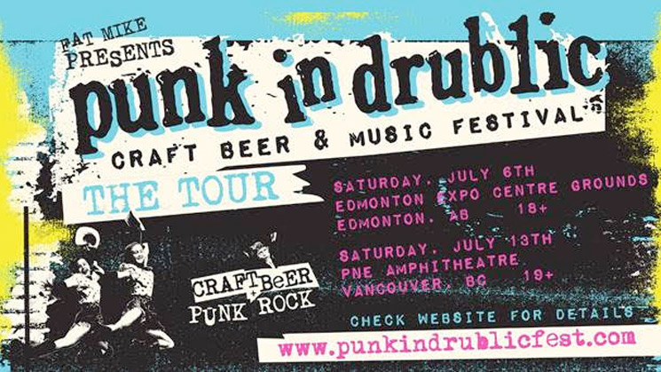 Edmonton's Punk in Drublic Fest Forced Indoors Due to Rainy Forecast