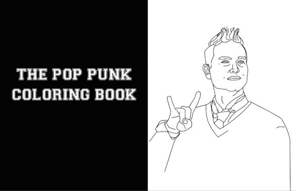 What's My Age Again? Shade Your Pop-Punk Heroes with This New Colouring Book