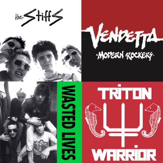 Supreme Echo Plots Archival Releases from the Stiffs, Wasted Lives, Vendetta and Triton Warrior