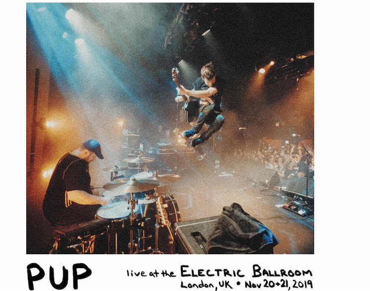 PUP Are Releasing a Live Album for One Day Only This Week