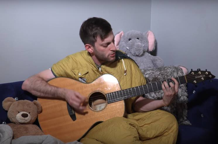 """Watch PUP Frontman Stefan Babcock Cover Built to Spill's """"Car"""""""