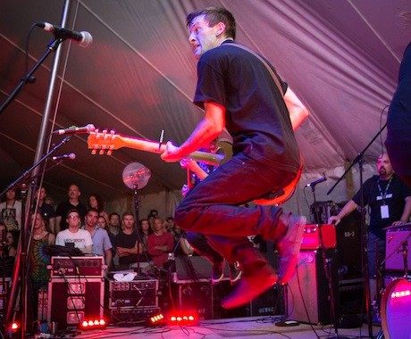 PUP Island Stage, Guelph ON, July 26