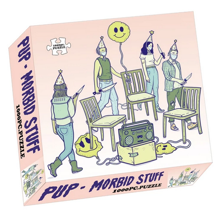 PUP Are Releasing a 'Morbid Stuff' Puzzle to Help Get You Through This Pandemic