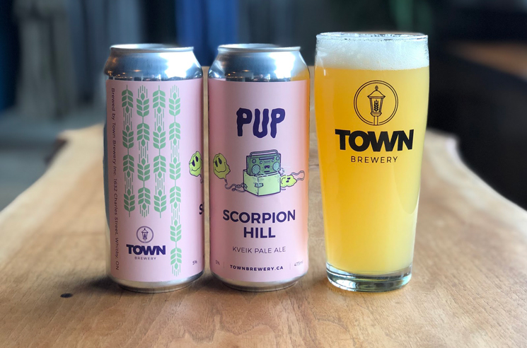 "PUP Launch ""Scorpion Hill"" Beer for Charity"