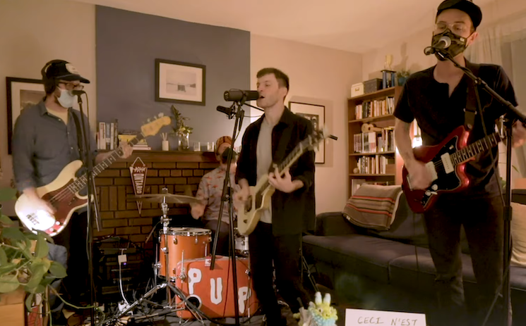 Watch PUP Perform a Tiny Desk Home Concert