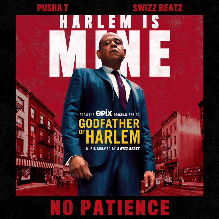 Pusha T and Swizz Beatz Collide on 'No Patience'
