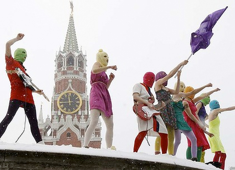 "Pussy Riot Found Guilty of ""Hooliganism,"" Sentenced to Two Years in Jail"