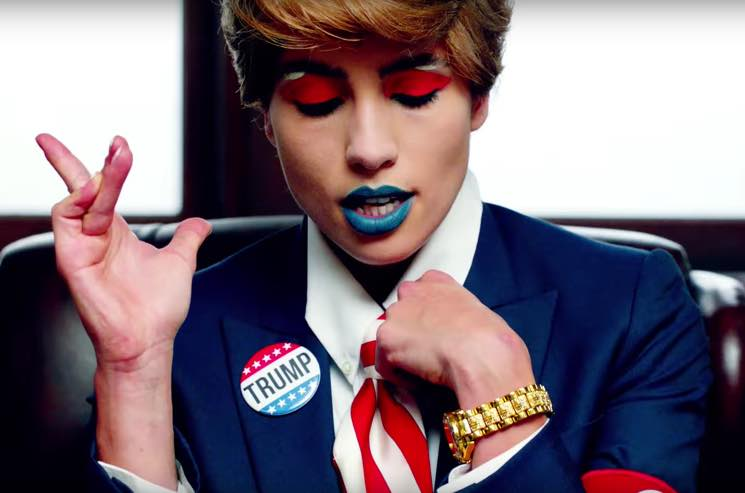 """Pussy Riot Announce 'xxx' EP, Skewer Trump in """"Make America Great Again"""" Video"""